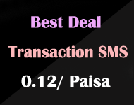 Best Deal on Transaction SMS