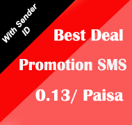 Best Deal on Promotional with sender id