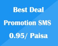 Best Deal on Promotional SMS